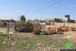 الاحتلال يصادر بركس وأشتال من قرية الرفاعية شرق يطا