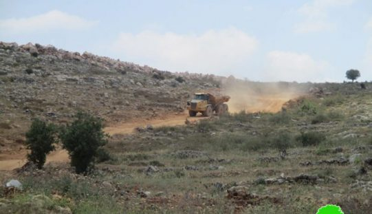 Israel to expand Arial industrial zone at the expense of Salfit landsViolation: expansion works on an industrial zone