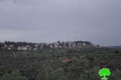 """الإعلان عن مخطط تنظيمي جديد لمستعمرة """"اورانيت"""" على حساب أراضي قرية سنيريا"""