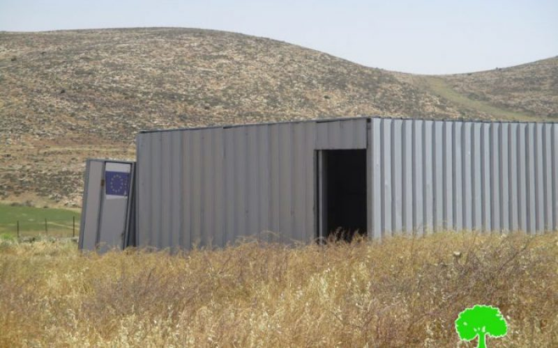 إخطارات بوقف البناء والهدم تطال منشآت سكنية وزراعية في قرية بيت دجن