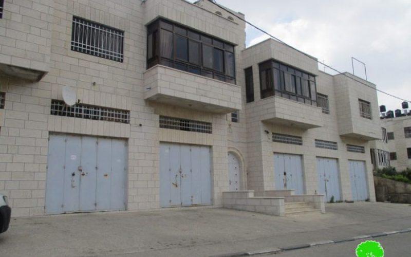إخطار ثلاثة بنايات سكنية بإعطاء فرصة إضافية للاعتراض على أمر الهدم في مخيم الجلزون ومدينة البيرة/رام الله