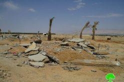 هدم ثلاثة منازل قيد الإنشاء في مدينة أريحا