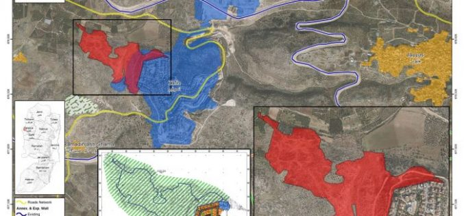 New master plan for Zufincolony in Qalqiliya Governorate