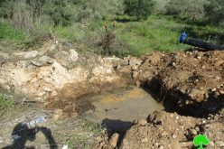 Ariel colony pumps sewage water into Palestinian lands in Salfit