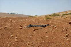 Israeli colonist demolish residential tent and sabotage water tanks in Tubas governorate