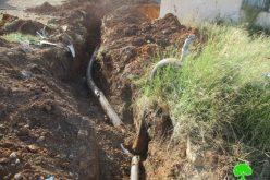مصادرة مولد ومضخات وتدمير خطوط مائية في الأغوار الشمالية