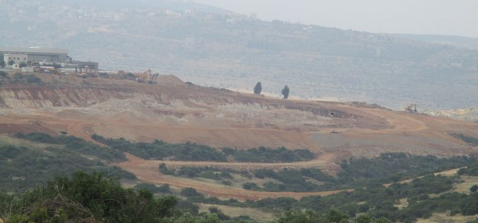 Expansion works on the Israeli industrial zone Shaked