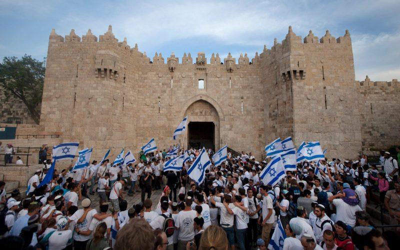 مسيرة للمستعمرين في قلب مدينة القدس المحتلة في الذكرى الخمسين لاحتلالها