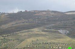 مكب نفايات جديد يضعه المستعمرون على أراض قرية بورين