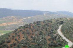 الإعلان عن تحويل 977 دونماً من أراضي الريف الجنوبي من مدينة نابلس الى أراض دولة