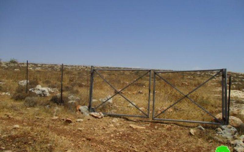 Israeli Occupation Forces order pastoral reserve of eviction in Nablus city