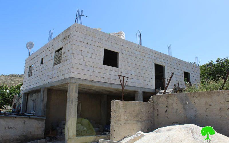 Final demolition order on a Hebron house