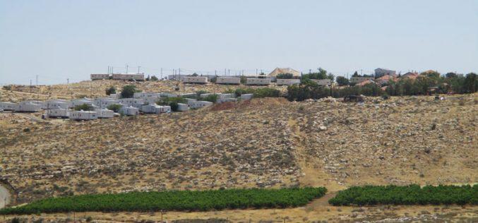 """عطاء لبناء 209 وحدة استعمارية في مستعمرة """" كوخاب يعقوب"""" شمال رام الله"""