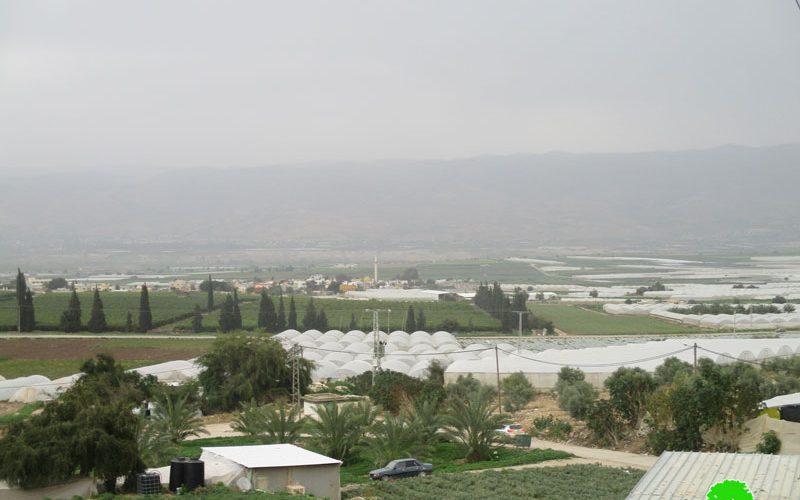 الاحتلال يلاحق مياه قرية بردلة ويضع قيوداً لاستخدام المياه