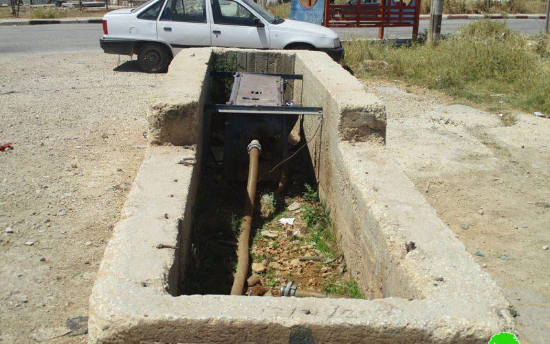 الاحتلال الاسرائيلي يقطع المياه عن 7 قرى وبلدات فلسطينية جنوب نابلس
