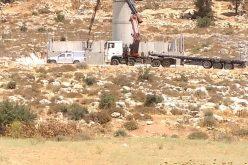 جيش الاحتلال يغلق مدخل قرية واد الشاجنة بالبوابة رقم 25ويقيم برج مراقبة عسكري في المنطقة
