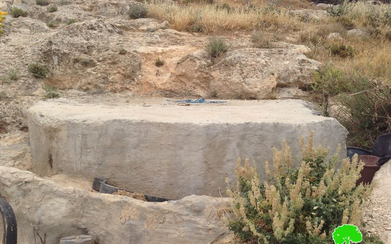 Stop-Work order on water well in Bethlehem area of Beit Ta'mar