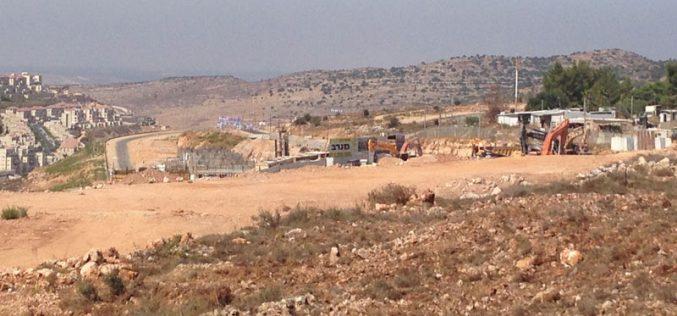المصادقة على بناء 1200 وحدة استعمارية على أراضي قرية واد فوكين بمحافظة بيت لحم
