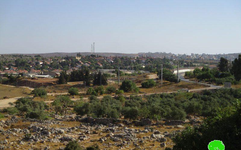 """الاحتلال يعلن عن منح سريان مفعول مخطط جديد لمستعمرة """" عوفرا"""""""