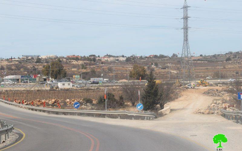 Israeli Occupation Forces ravage lands in Bethlehem governorate