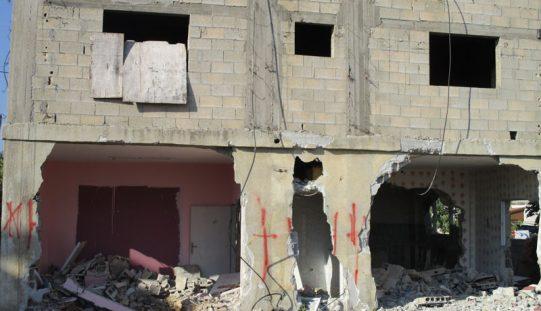 جيش الاحتلال يهدم منزل منفذ عملية حلميش