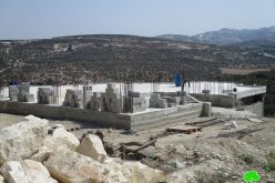 اخطارات بوقف البناء تطال 12 مسكن وبركس زراعي في قرية جيت