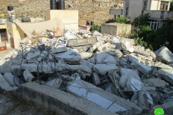 "Israeli Occupation Forces implement ""security demolition"" in Silwad town"
