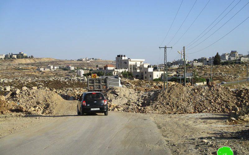 """جيش الاحتلال يغلق مداخل قرية كوبر شمال غرب مدينة رام الله –إخطار بهدم منزل منفذ عملية """" حلميش"""""""