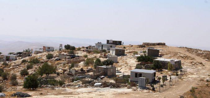Stop-work orders in the Hebron town of Yatta