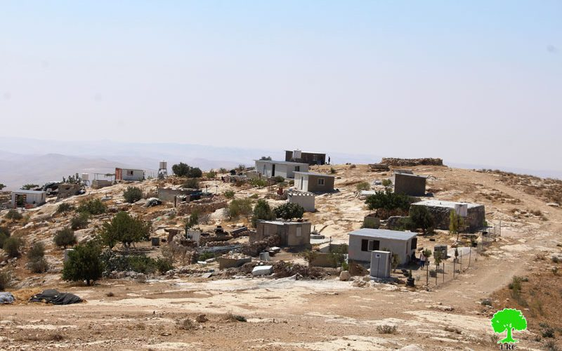 Stop-work orders in the Hebron town of Yatta
