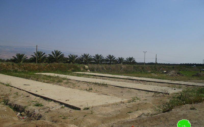 إخطار بهدم محطة الطاقة الشمسية في قرية مرج نعجة