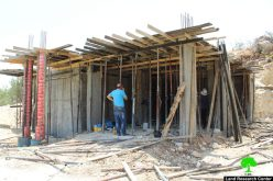 Stop-Work orders on residences in Al-Arroub Refugee Camp