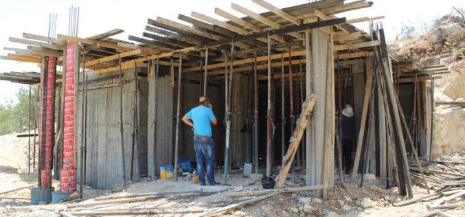 Stop-Work orders on residences in Al-Arroub Refugee Camp