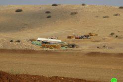مصادرة آليات زراعية ومركبات فلسطينية في منطقة الرأس الأحمر / محافظة طوباس