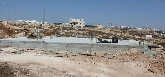 Stop-Work orders on residences east Hebron governorate