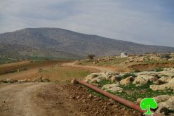 Stop-work order on water supply pipeline in Bardala village