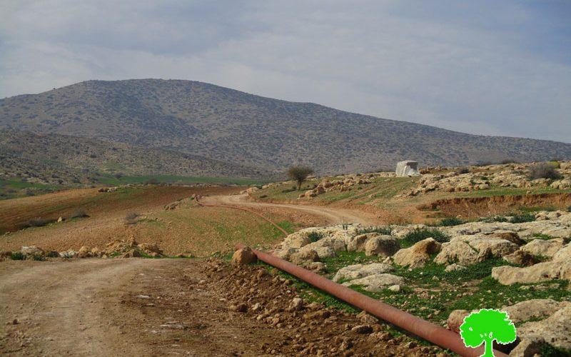 Stop-work order on water supply pipeline in Bardala village