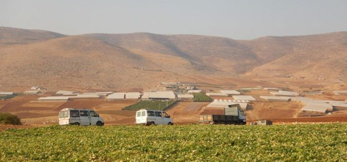 Israel's Occupation Forces confiscate Palestinian vehicles in east Tubas governorate