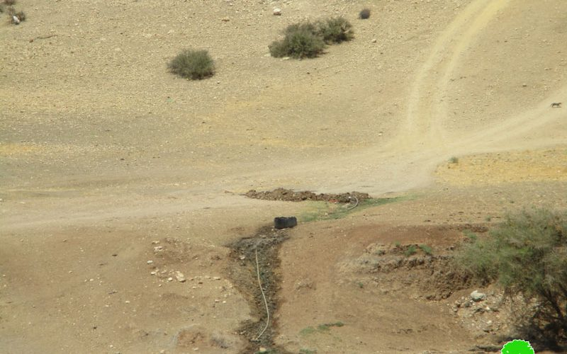 Israel Occupation Forces confiscate items and sabotage water pipelines in Tubas governorate