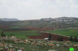 """الإعلان عن إنشاء بؤرة استعمارية جديدة بديلة عن البؤرة """" عمونة"""" على أراض قرية جالود / محافظة نابلس"""