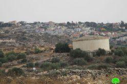 الاحتلال يخطر بإزالة 9 أعمدة كهربائية غرب بلدة جيوس بمحافظة قلقيلية