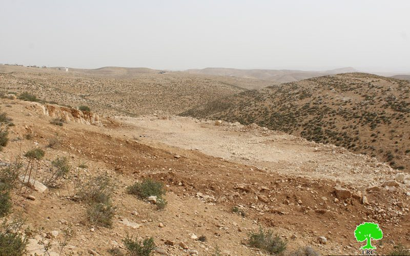 Stop-work orders on agricultural structures east Yatta town in Hebron