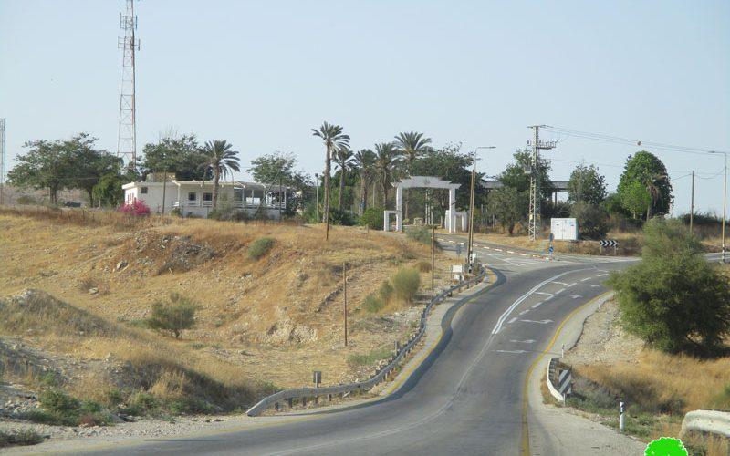 تحويل معسكر بروش هبكعا إلى مستعمرة إسرائيلية على حساب الأراضي الفلسطينية  محافظة طوباس