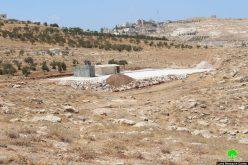 الاحتلال ينتهك حق الأطفال في التعليم … مصادرة غرف مدرسة جب الذيب فيبيت تعمر/ محافظة بيت لحم