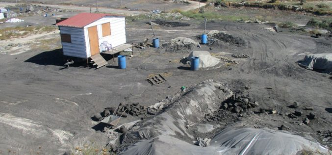 Israel's Occupation Forces  demolish charcoal workshops in Jenin governorate