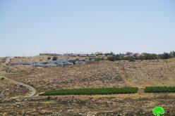 """الإعلان عن إيداع مخططات جديدة لصالح مستعمرة """"كوخاف يعقوب"""" على حساب الأراضي الفلسطينية"""