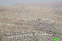 """أثناء التدريبات العسكرية جيش الاحتلال يهدم منزل سكني في خربة """" الدوا"""" بمحافظة نابلس"""