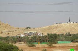 الشروع بتحويل قاعدة عسكرية إسرائيلية إلى منتجع سياحي على قرية الفصايل / محافظة أريحا