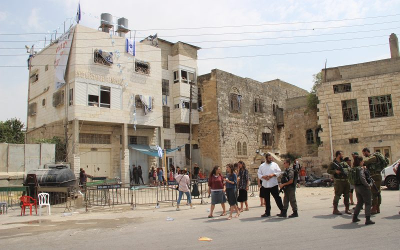 Israeli Colonists take over Hebron's Old City building