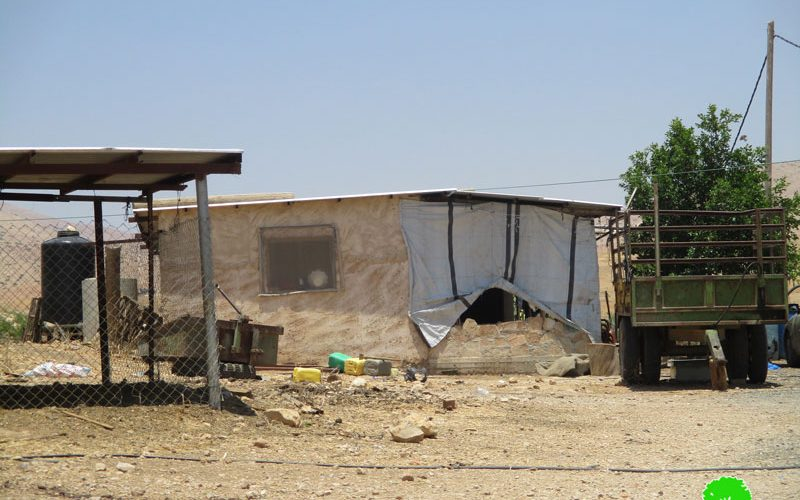 Stop-Work orders in the Palestinian Jordan Valley